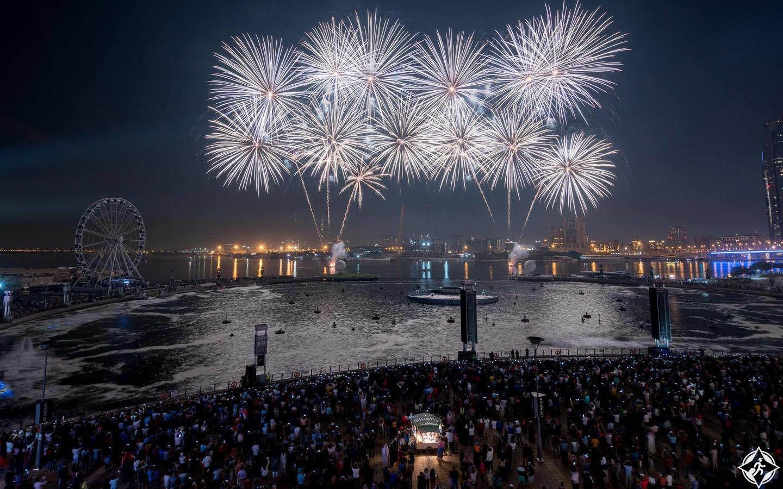 دبي فستيفال سيتي احتفال رأس السنة