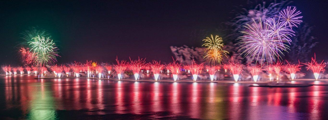 رأس الخيمة تحتفل برأس السنة 2018