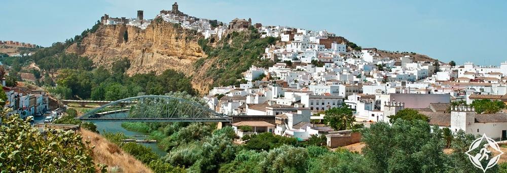 مدن الأندلس البيضاء - اركوس دي لا فرونتيرا