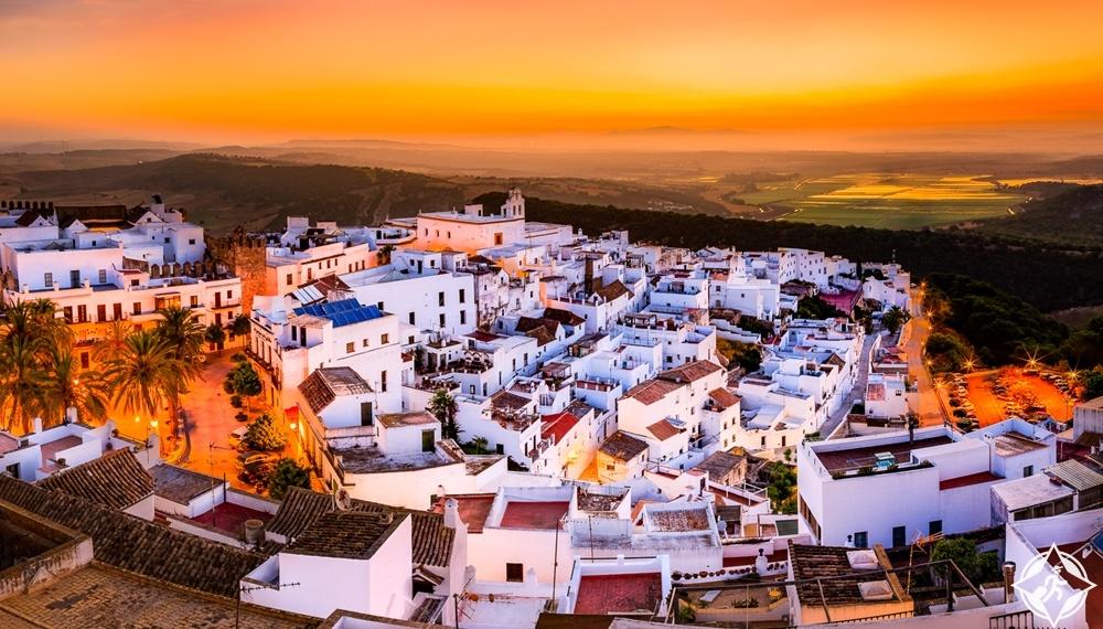 مدن الأندلس البيضاء - فيجير دي لا فرونتيرا