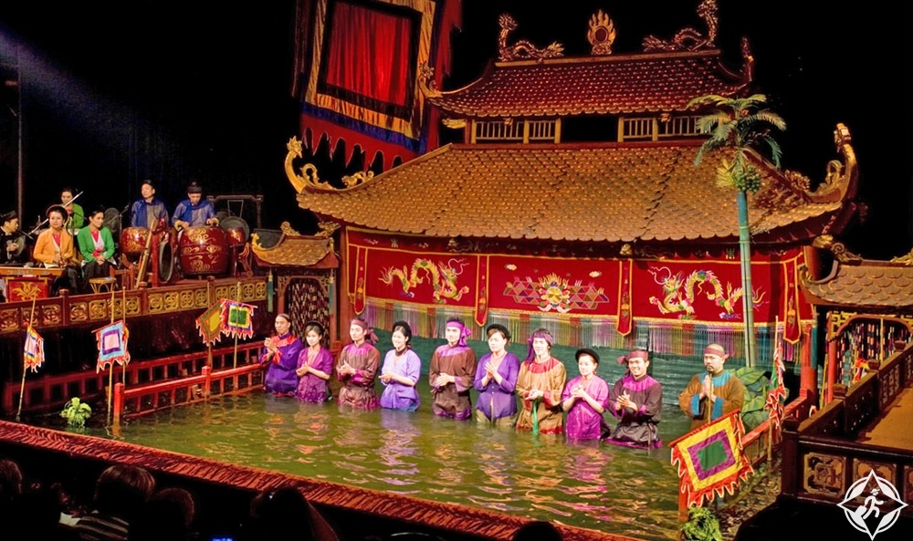 هو شي منه - مسرح عرائس مياه التنين الذهبي