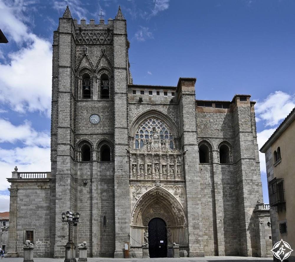 أفيلا - كاتدرائية سان سلفادور