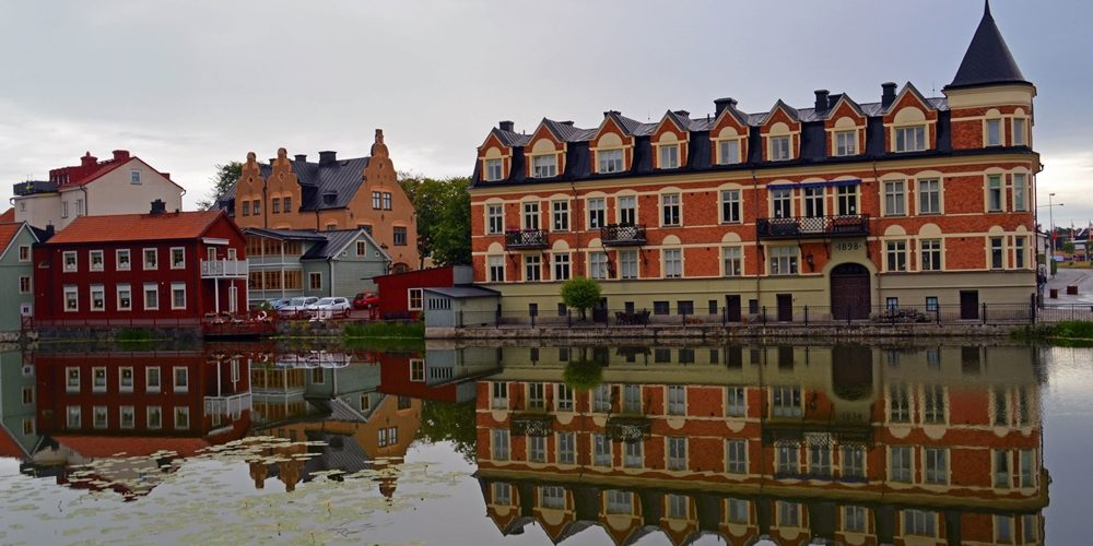 إسكيلستونا - المدينة القديمة