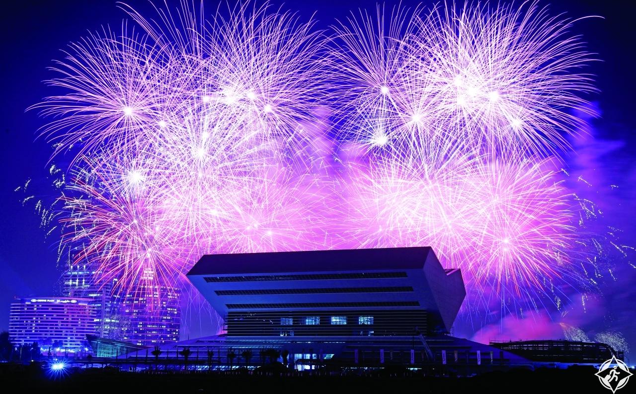 دبي تحتفل بالعام الجديد 2019