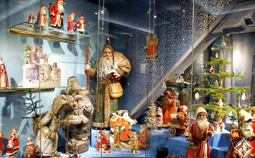 روتنبورغ أب دير تاوبر - متحف الكريسماس