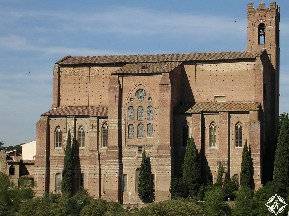 سيينا - كنيسة سان دومينيكو