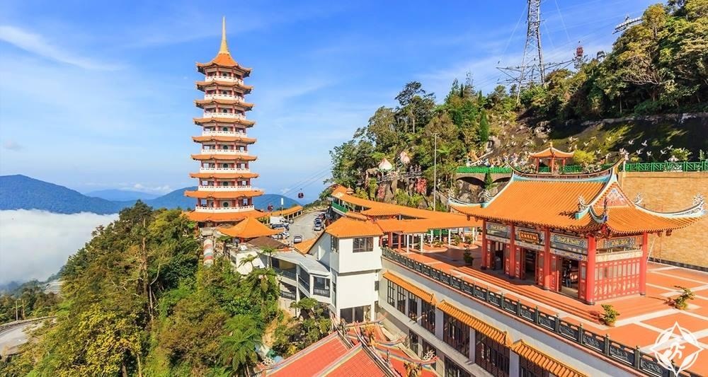 مرتفعات جنتنج - معبد كهوف تشين سوي
