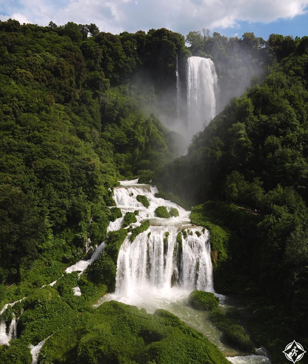 الشلالات في ايطاليا - شلالات مارمور