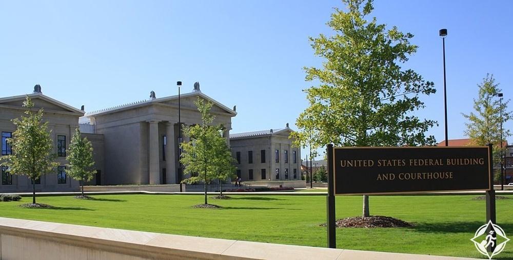 توسكالوسا - مبنى توسكالوسا الفيدرالي ومحكمة الولايات المتحدة