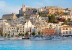 جزر البليار- المدينة القديمة في جزيرة إيبيزا