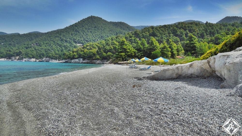 جزيرة سكوبيلوس - شاطئ ميليا