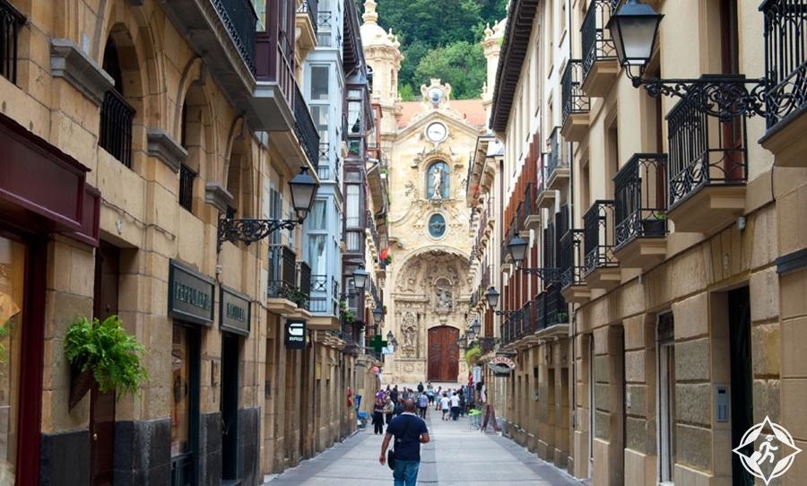 سان سيباستيان - المدينة القديمة