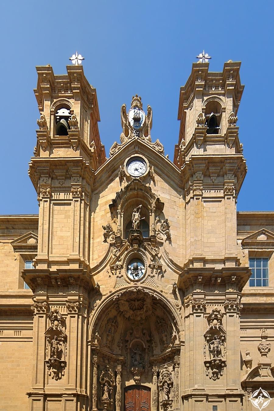 سان سيباستيان - كنيسة سانتا ماريا ديل كورو