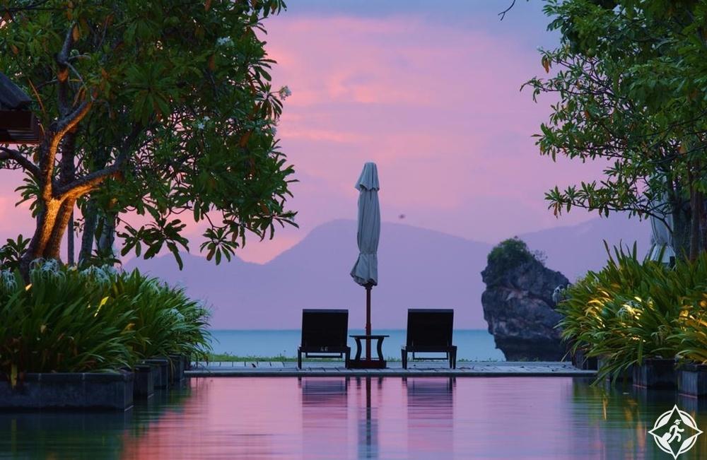 الفنادق الرومانسية في لنكاوي - منتجع تانجونغ رهو