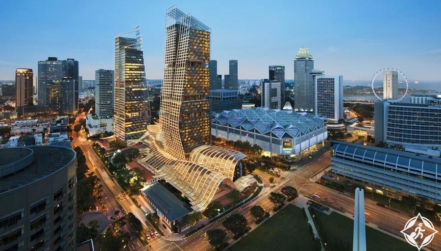 الفنادق الفاخرة في سنغافورة - جيه دبليو ماريوت سنغافورة ساوث بيتش