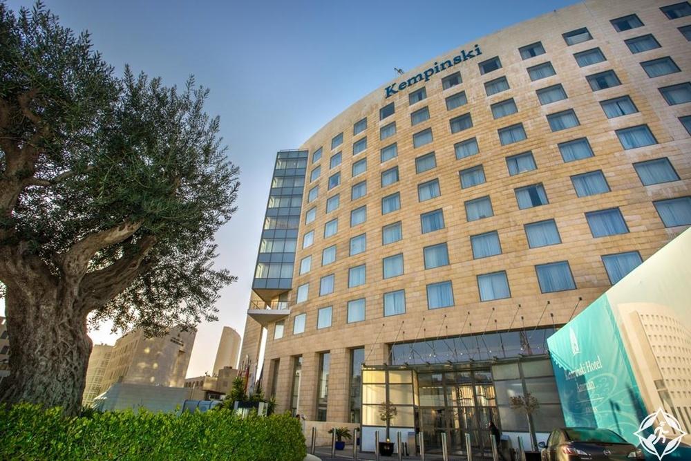 الفنادق الفاخرة في عمّان - فندق كمبينسكي عمّان