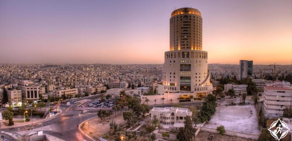 الفنادق الفاخرة في عمّان - فندق لو رويال عمّان