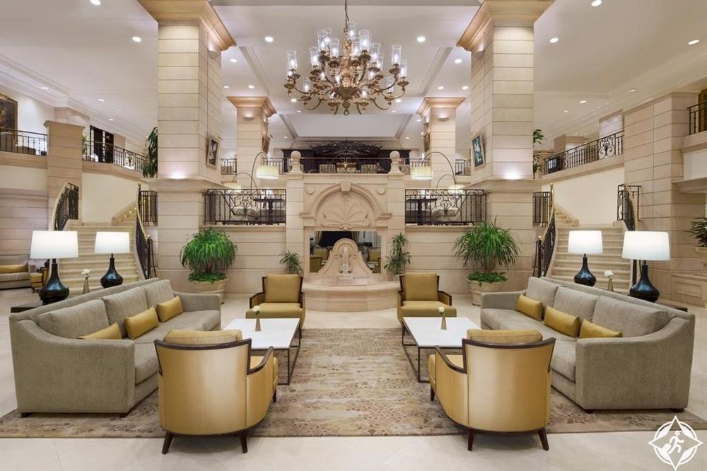 الفنادق الفاخرة في عمّان - ماريوت عمّان