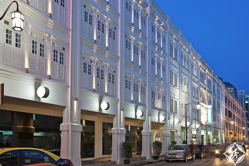 الفنادق في سنغافورة - فندق بورسيلان