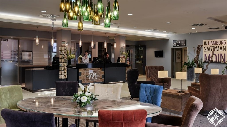الفنادق في هامبورغ - فندق ميركيور هامبورغ سيتي