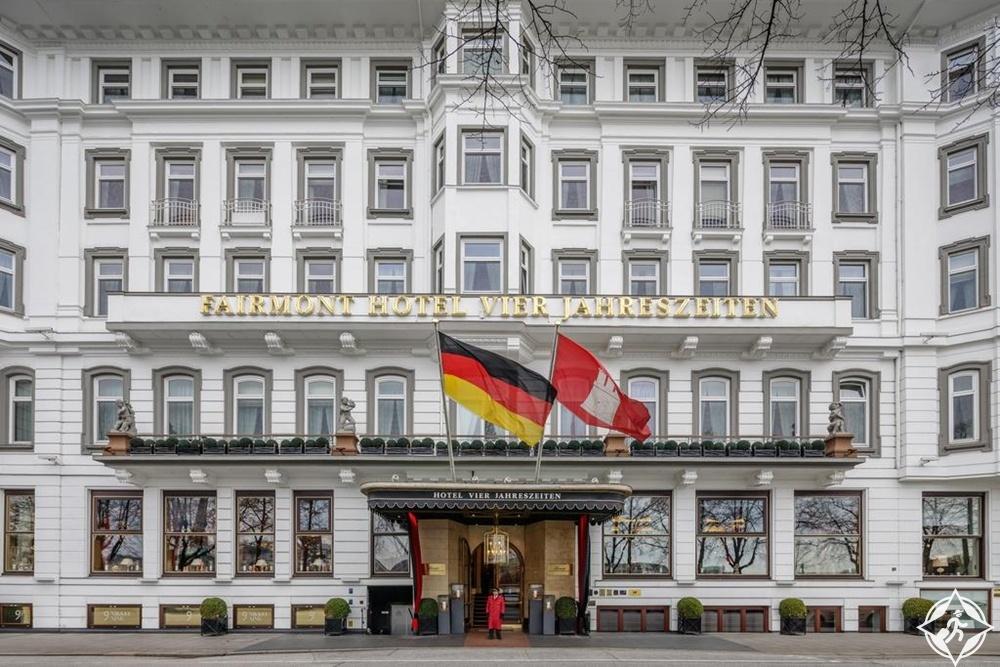 الفنادق الفاخرة في هامبورغ - فندق فيرمونت فير يارستزايتن