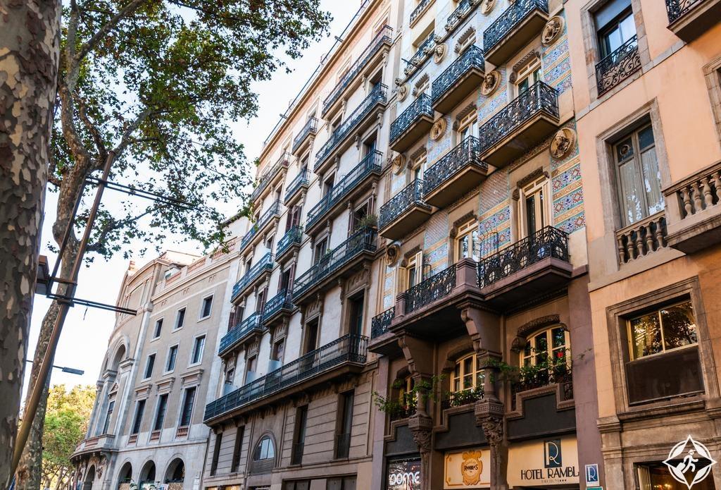 الفنادق في برشلونة - فندق رامبلاس