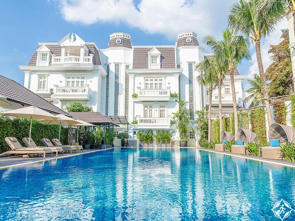 الفنادق في هو تشي منه - فيلا سونغ سايجون