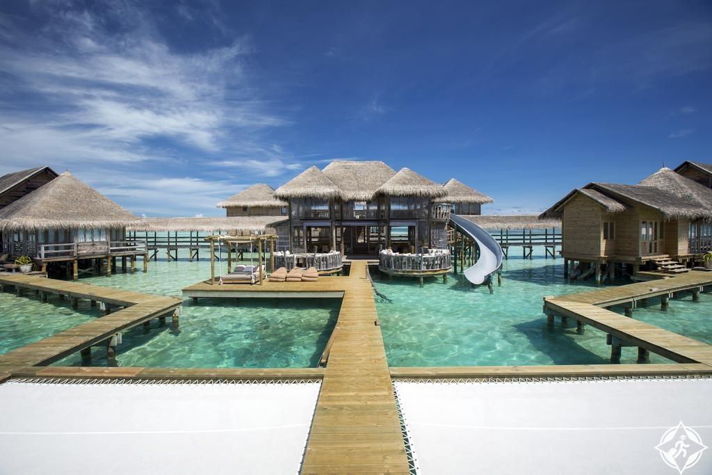 أماكن الإقامة الرومانسية في جزر المالديف - جيلي لانكانفوشي المالديف