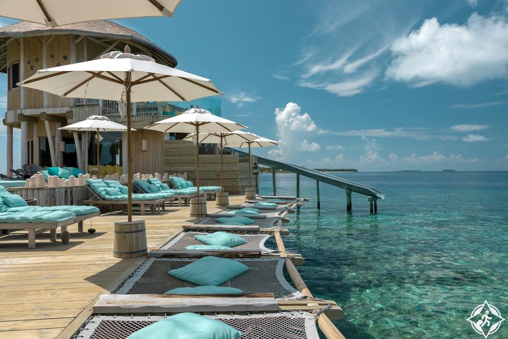 أماكن الإقامة الرومانسية في جزر المالديف - منتجعات سونيفا فوشي