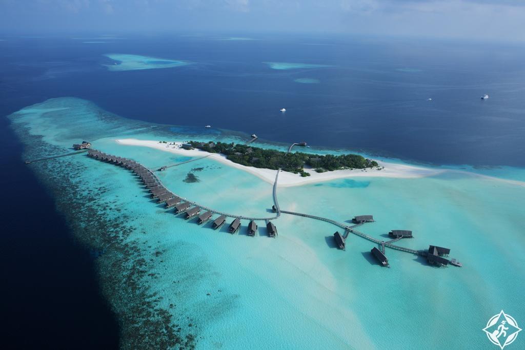 أماكن الإقامة الرومانسية في جزر المالديف - منتجع كومو كوكو آيلاند