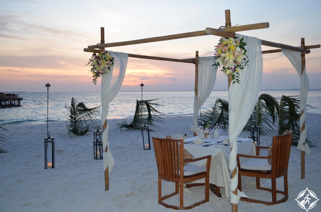 أماكن الإقامة الرومانسية في جزر المالديف - منتجع ميريهي آيلاند