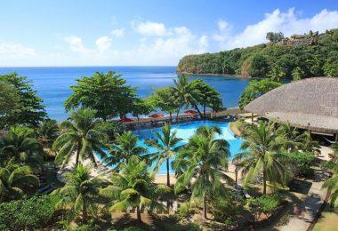 الفنادق الرومانسية في بابيتي - منتجع تاهيتي بيرل بيتش