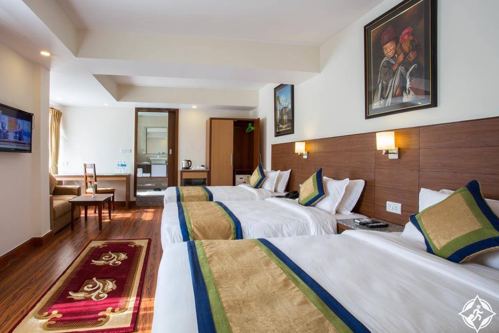الفنادق العائلية في كاتماندو - فندق أوازيز كاتماندو