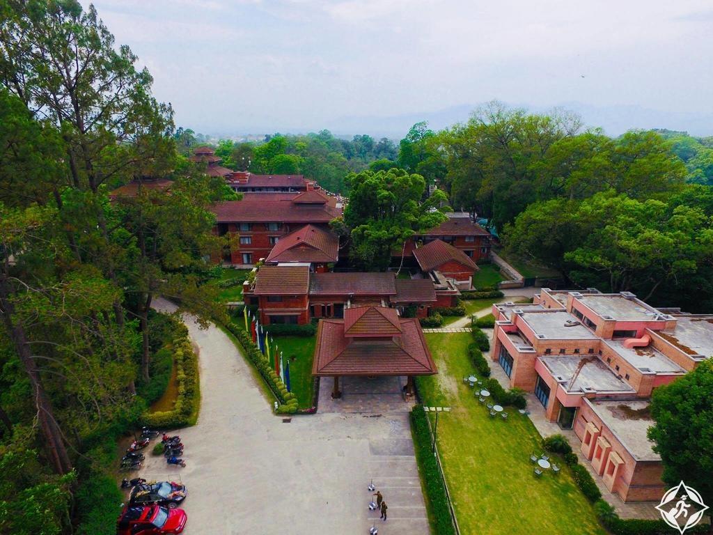 الفنادق العائلية في كاتماندو - منتجع غوكارنا فوريست