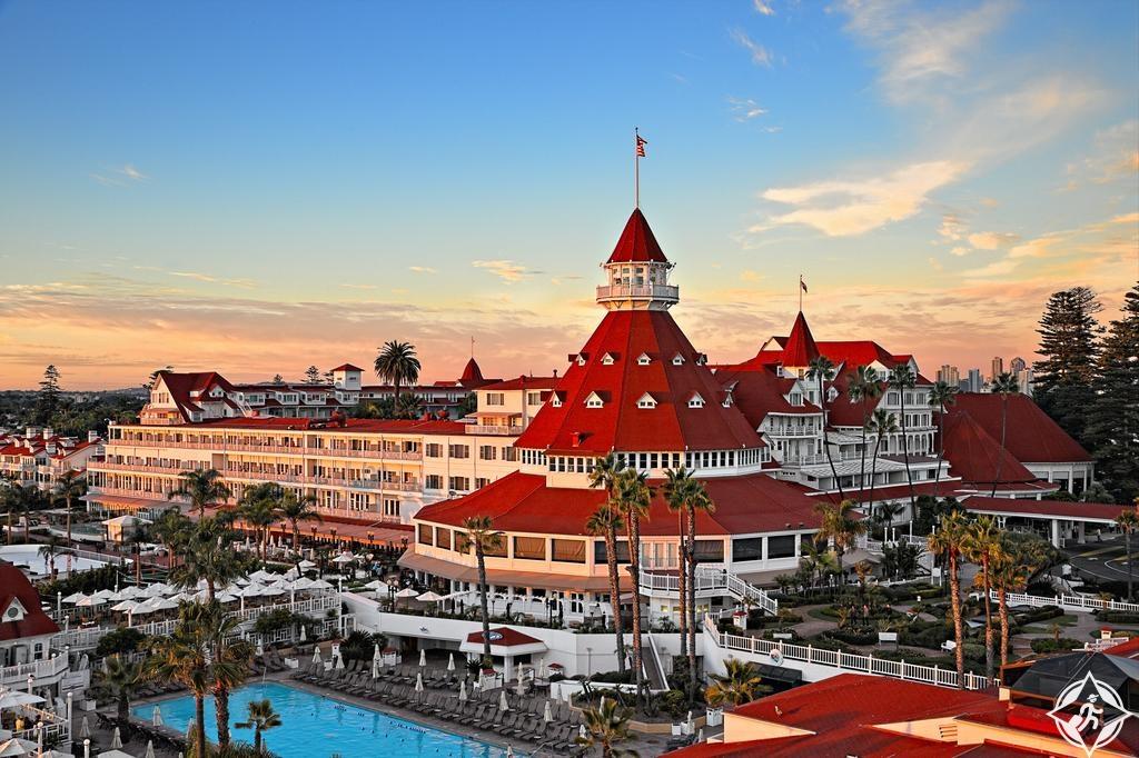 الفنادق في سان دييغو - فندق ديل كورونادو
