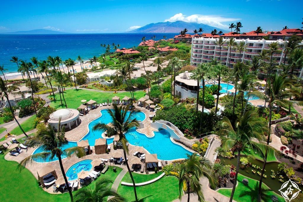 أماكن الإقامة في هاواي - فيرمونت كي لاني، ماوي