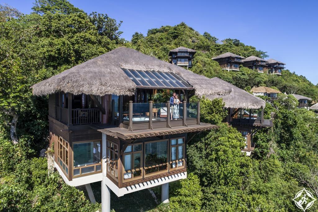 الفنادق الرومانسية في جزيرة بوراكاي - منتجع وسبا شانغريلا بوراكاي