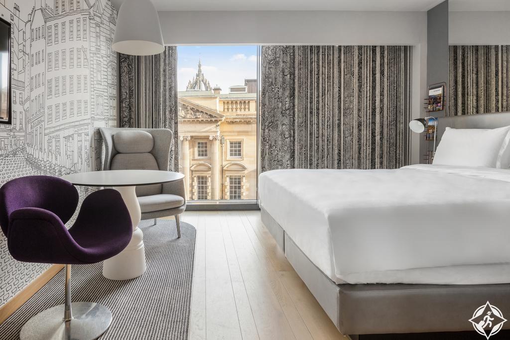 الفنادق الفاخرة في إدنبرة - فندق راديسون كوليكشن، رويال مايل