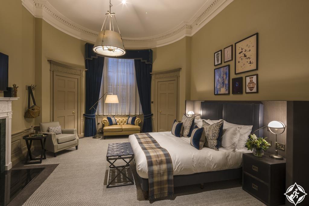 الفنادق الفاخرة في إدنبرة - فندق ساحة كيمبتون تشارلوت