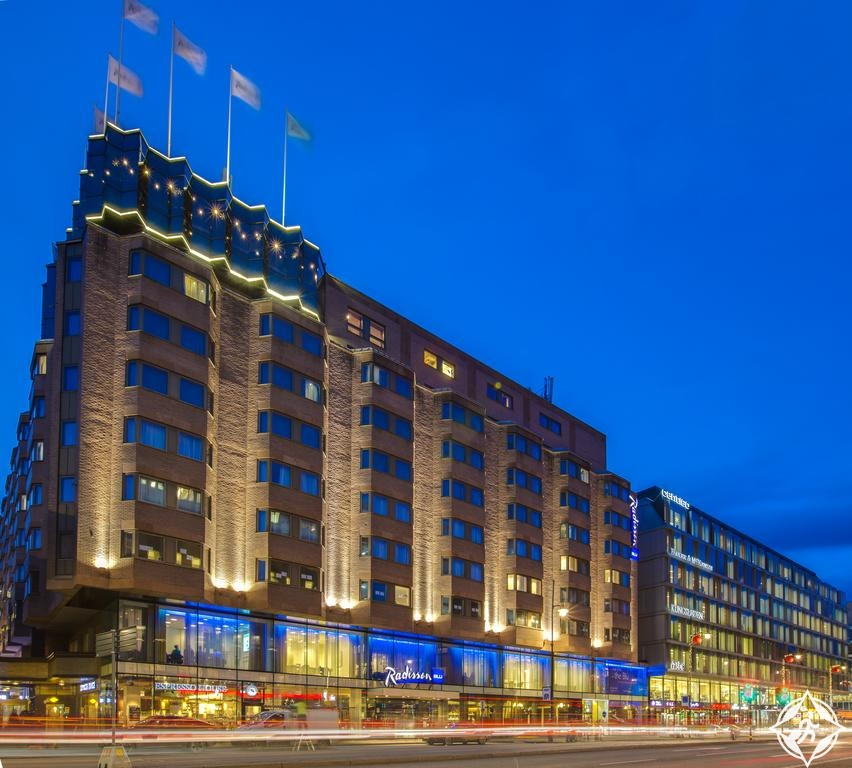 الفنادق الفاخرة في ستوكهولم - فندق راديسون بلو رويال فايكنغ