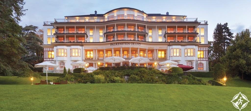 الفنادق الفاخرة في فرانكفورت - فالكنشتاين جراند كمبينسكي