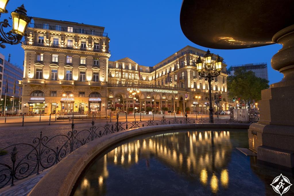 الفنادق الفاخرة في فرانكفورت - فندق شتايغنبيرغر فرانكفورت هوف