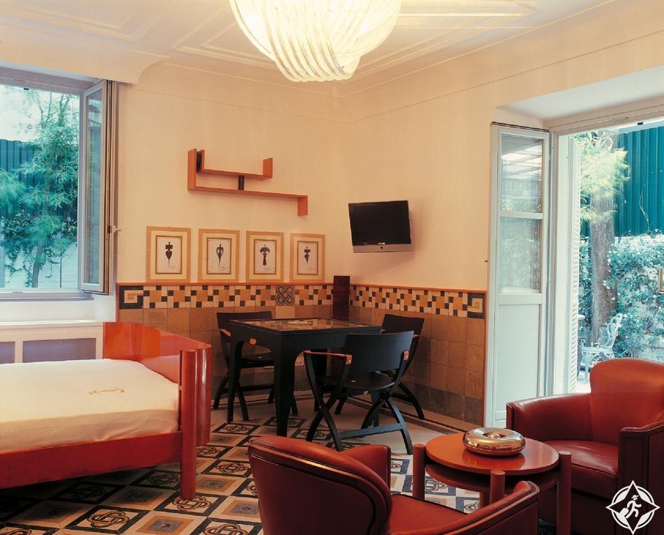 الفنادق الاقتصادية في روما - فيلا لاتيتيا