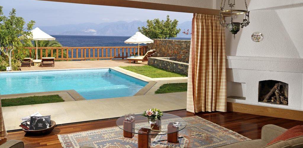 الفنادق الرومانسية في كريت - فندق إيلوندا ريلايس آند شاتو