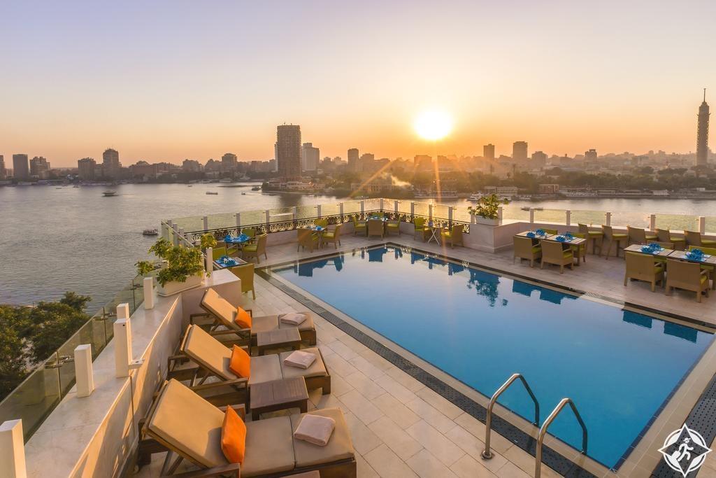 الفنادق الفاخرة في القاهرة - فندق كمبنسكي النيل