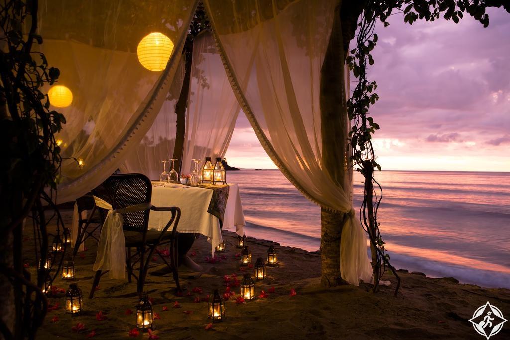 الفنادق في جزيرة لومبوك - أجنحة سودامالا وفيلات سينجيجي