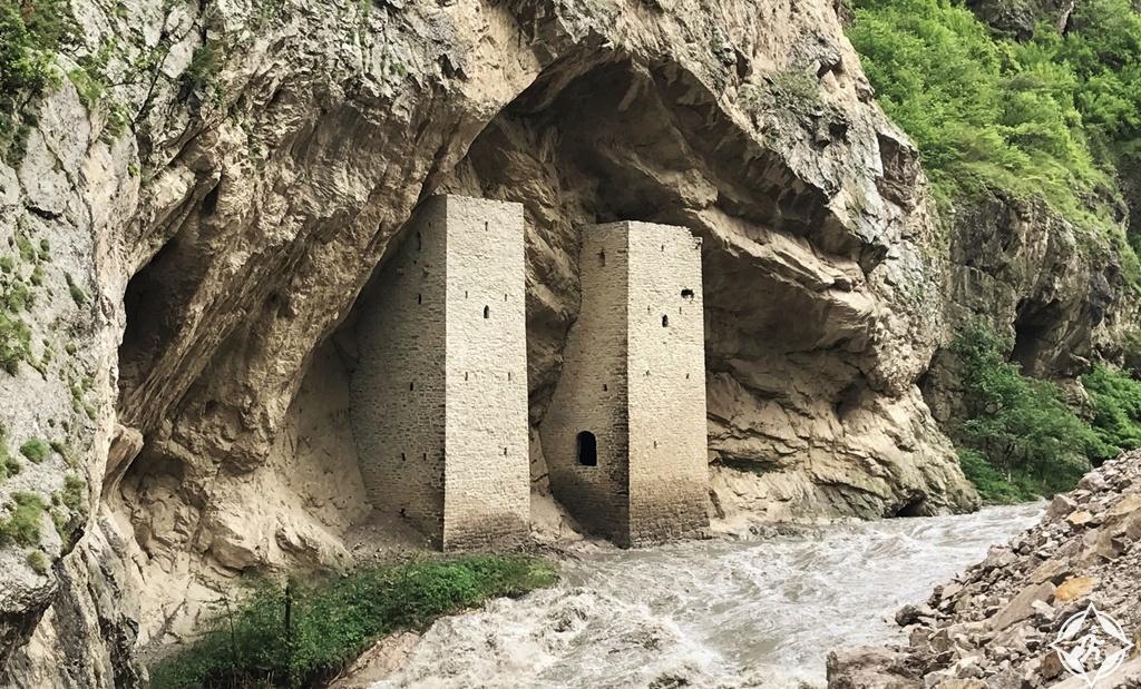 السياحة في الشيشان - أبراج المراقبة أوشكالوي
