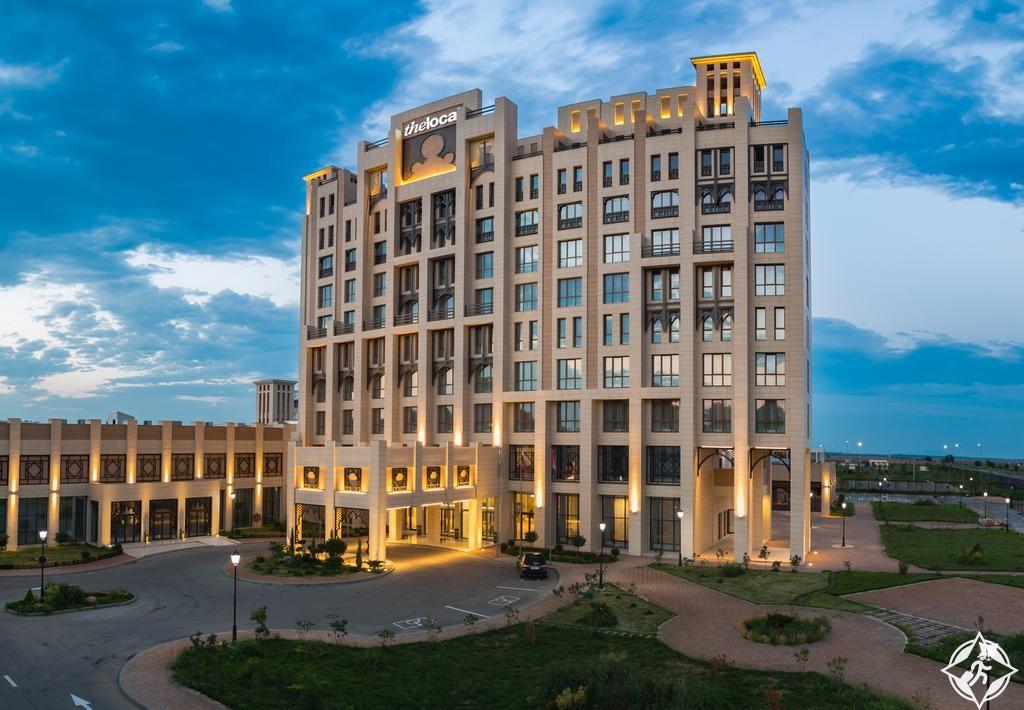 السياحة في الشيشان - فنادق ثالوكال غروزني