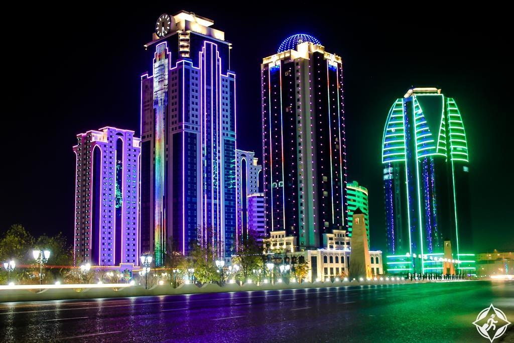 السياحة في الشيشان - فندق غروزني سيتي