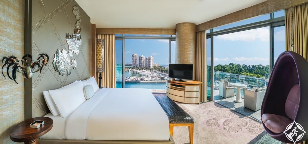 الفنادق الرومانسية في سنغافورة - دبليو سنغافورة - سنتوسا كوف